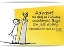 Adwentowe oczekiwanie... 3 grudnia I Niedziela Adwentu.