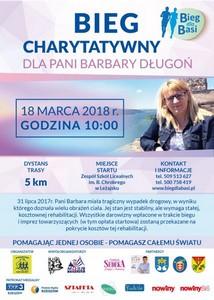 Bieg charytatywny dla p. Basi Długoń...