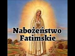 Kolejne Nabożeństwo Fatimskie... zapraszamy do wspólnej modlitwy.