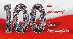 100 dni trzeźwości na 100 lecie niepodległości...